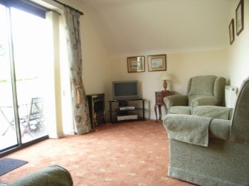 Holiday home Dorset comfortable lounge